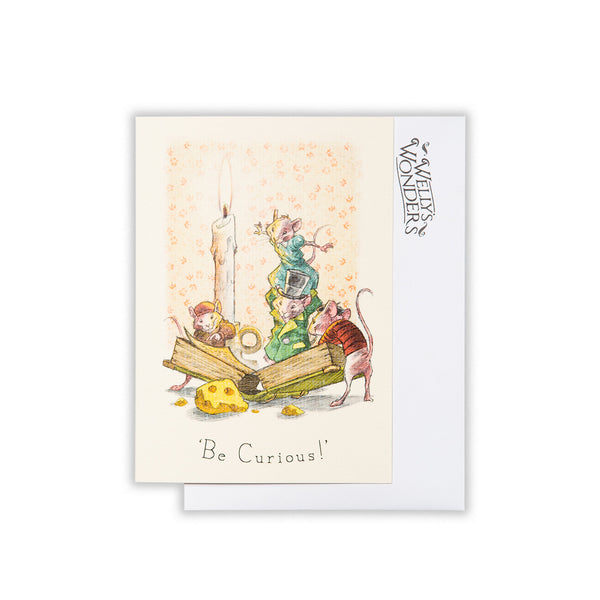 Greeting Card - Be Curious