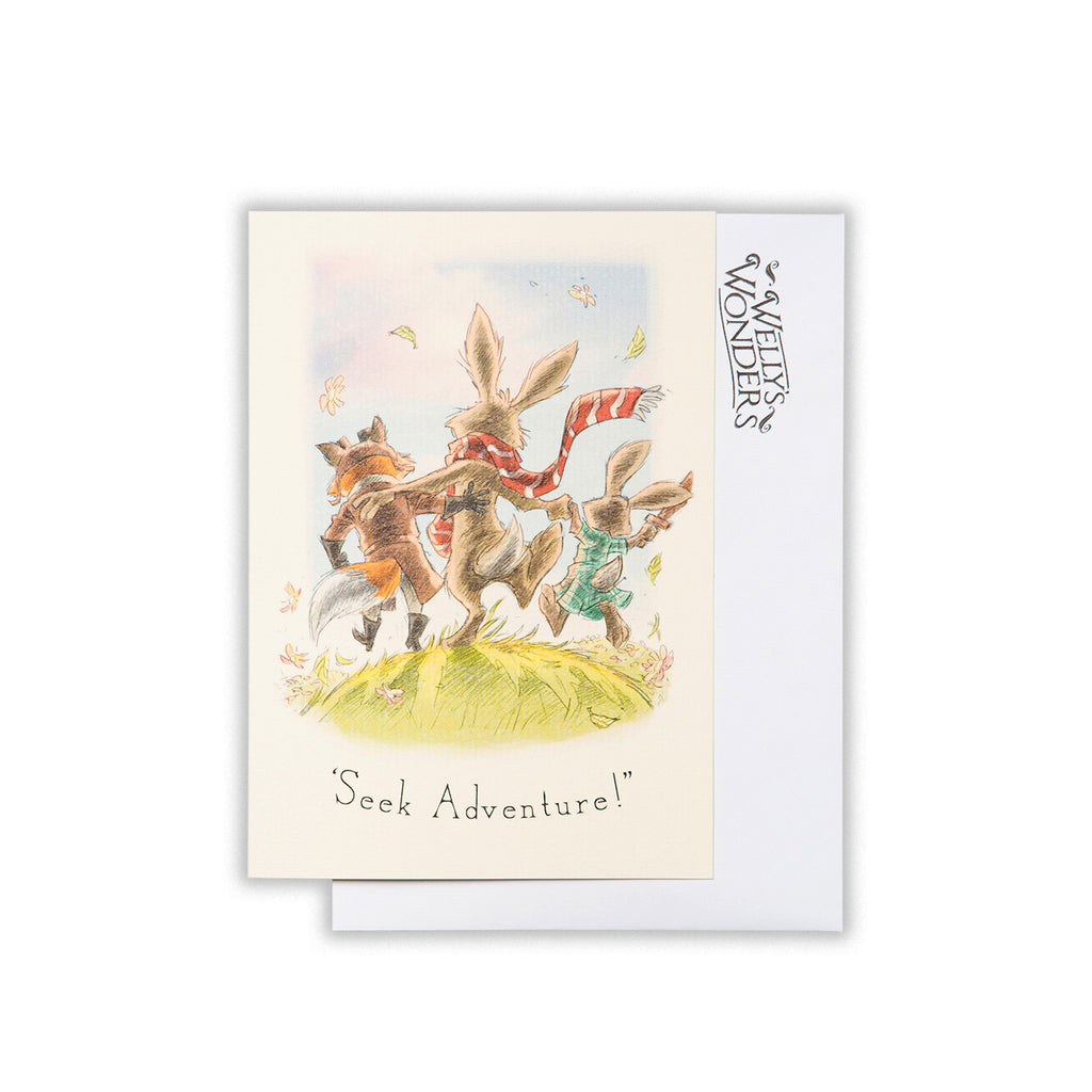 Greeting Card - Seek Adventure Trio