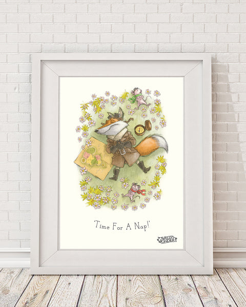 'Time For A Nap' Print