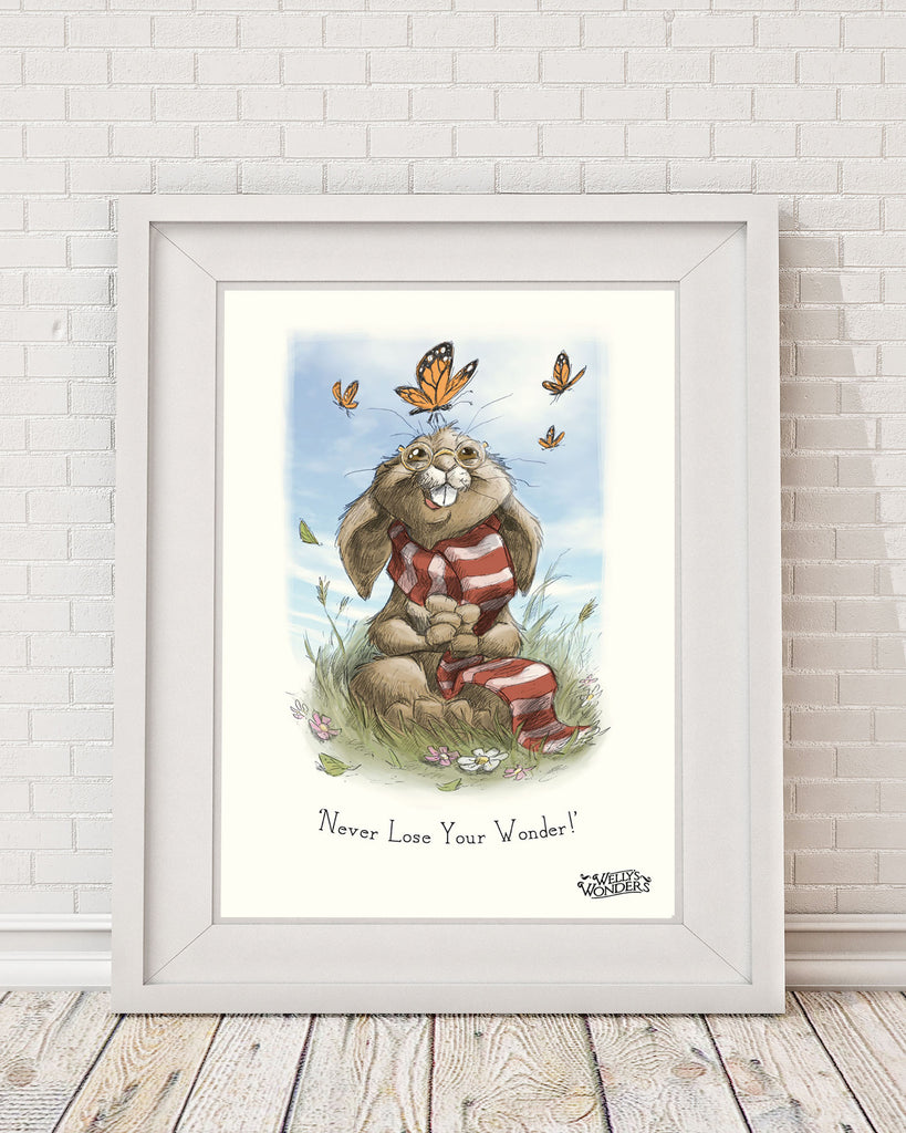 'Never Lose Your Wonder' Print