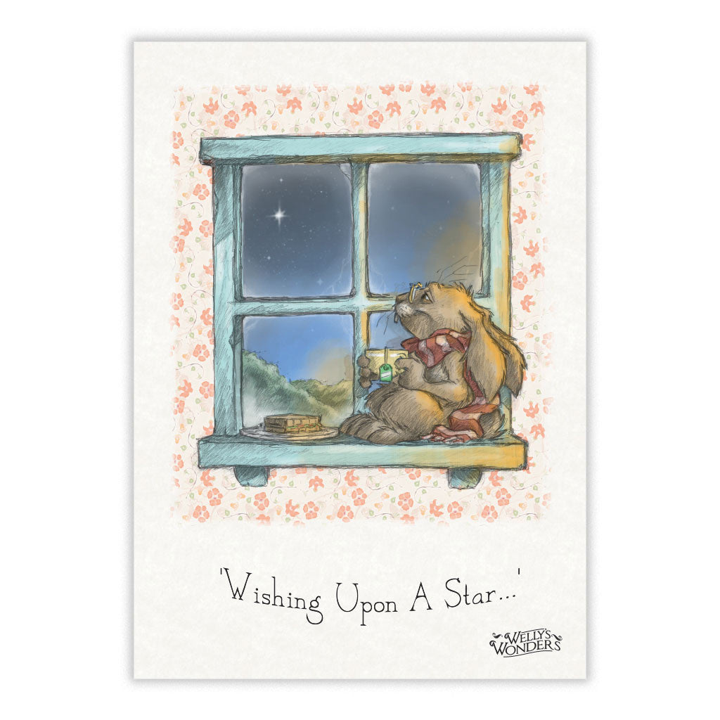 Greeting Card - Wishing Upon A Star