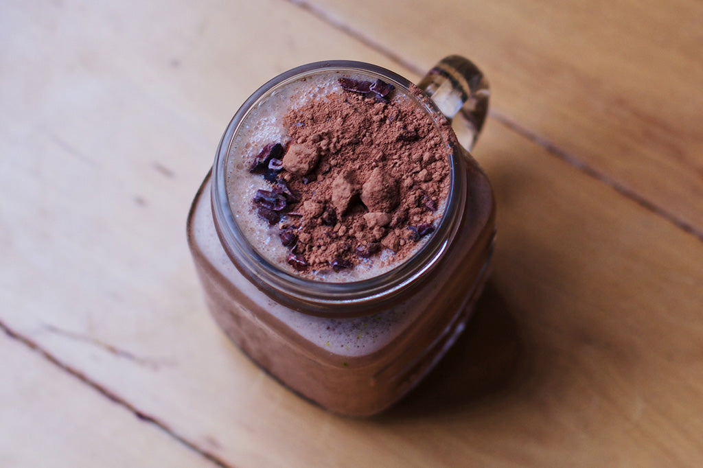 Chocolate Tahini Shake Emma Apin Sunflower Citizen Naked Paleo Recipe Blog