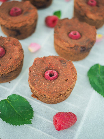 Raspberry, Beetroot and Cacao Muffins with Amelia Kay of Amelia's Balanced Kitchen