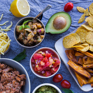 Naked Paleo Blog Recipe Mexican Feast Burrito Bowls Healthy Snack Dinners