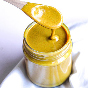 Cashew, Coconut & Turmeric Butter Recipe Naked Paleo Blog Nourishing Club Kate Levins