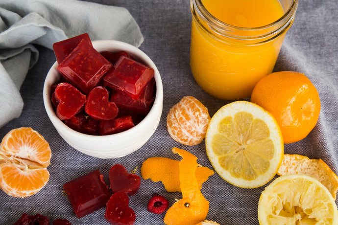 Raspberry and Orange Vitamin C Gummies
