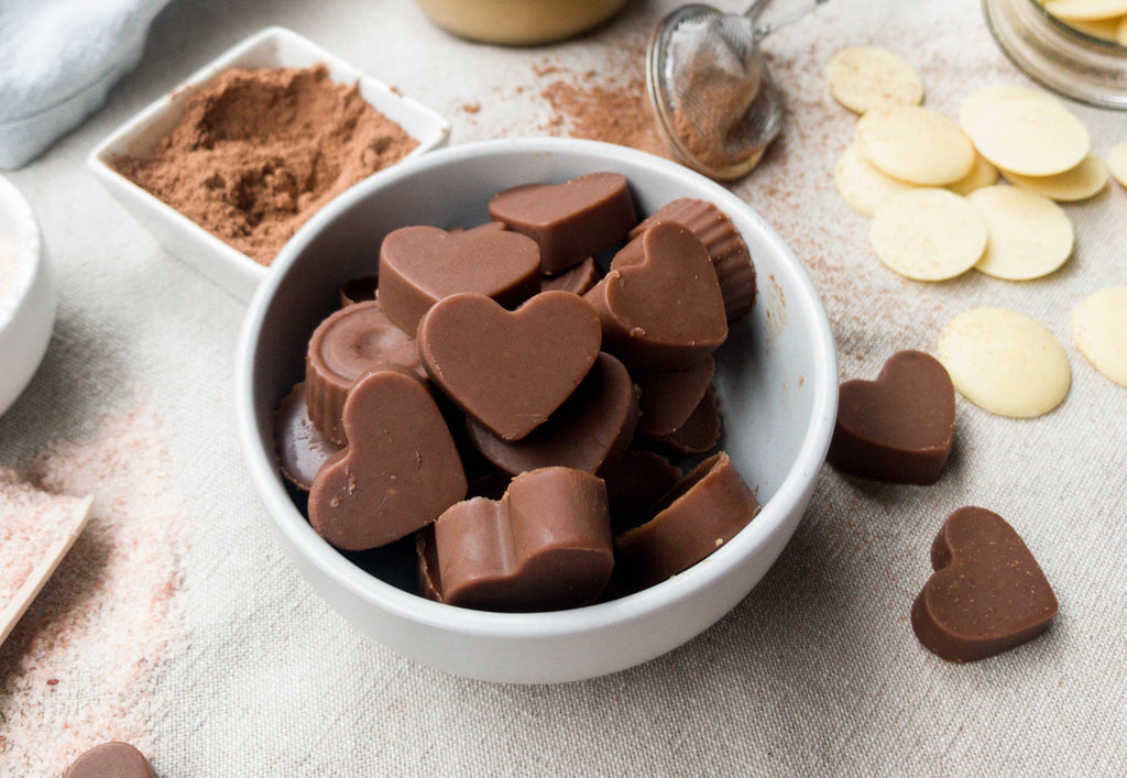 Naked Paleo Blog Recipe Peanut Butter Chocolate Valentine's Day Handmade Gift