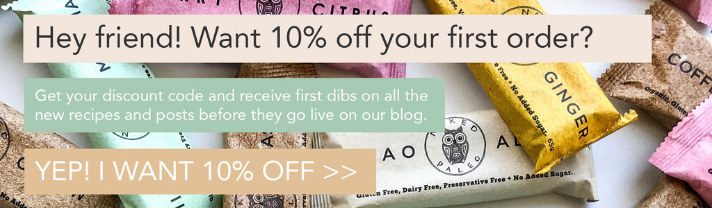 Naked Paleo 10% Off Your First Order Discount Offer Code