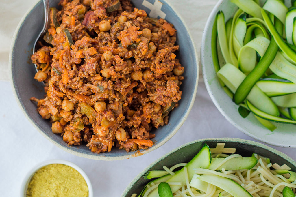 How to Make Budget Friendly Bolognese Beef Vegetables Healthy Dinners for Busy Families Naked Paleo Byron Bay Bars Snacks