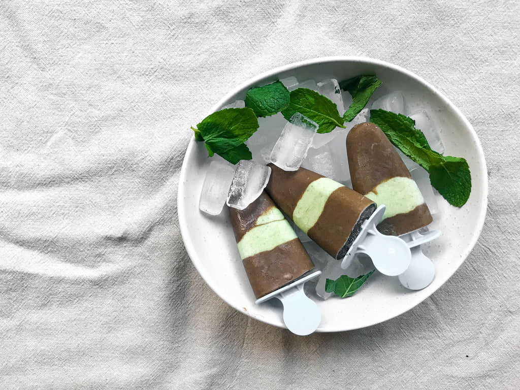 Choc Mint Fudgsicles Naked Paleo Blog Recipe