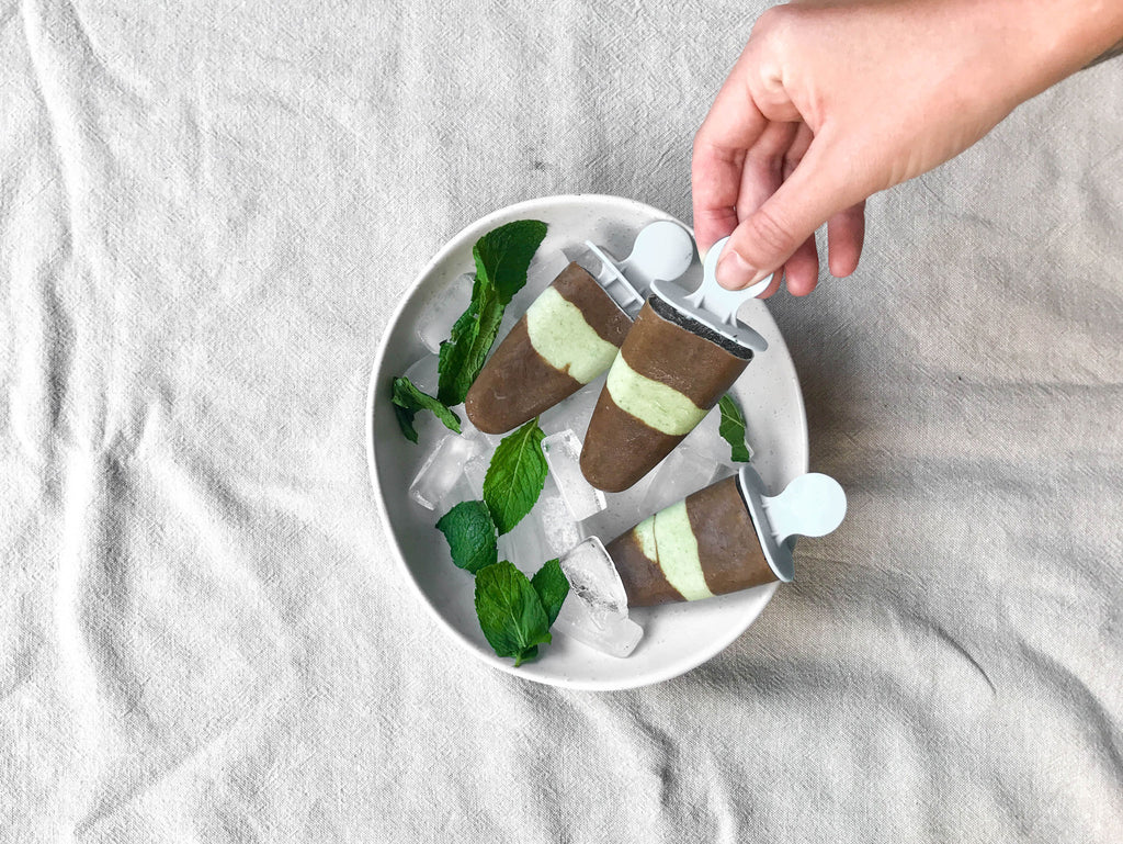 Choc Mint Fudgiscles Naked Paleo Blog Recipe