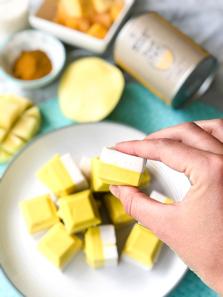 Naked Paleo Blog Recipe Turmeric Mango Coconut Gummies
