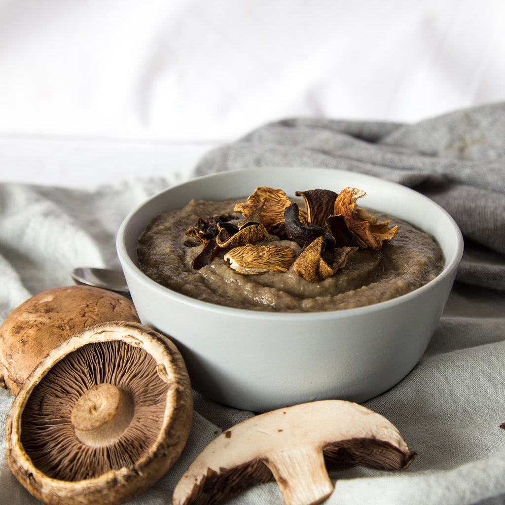 Mushroom and Parsnip Soup Recipe Naked Paleo Blog Healthy Bars and Mylk Infusion Latte Powders