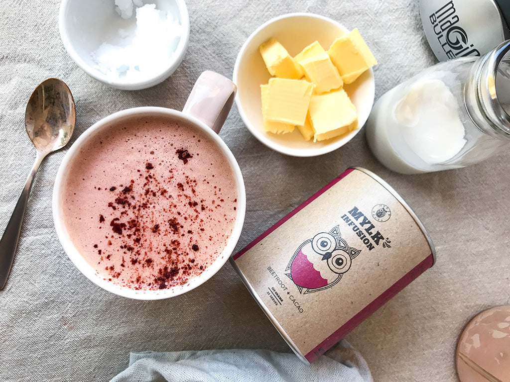 Naked Paleo Supercharged Beetroot Hot Chocolate Recipe