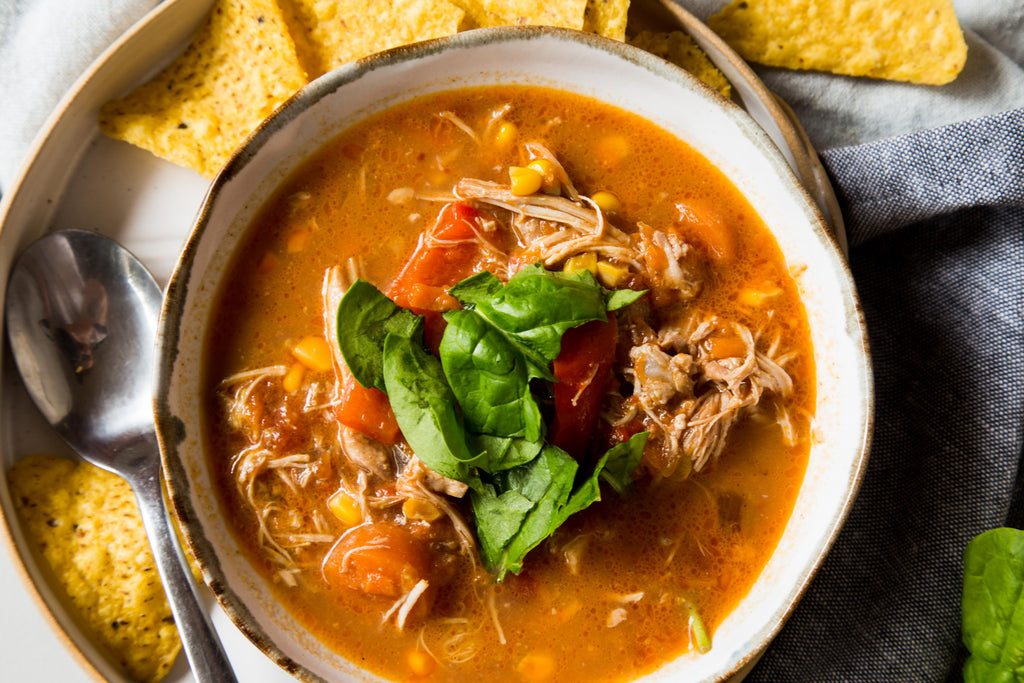 Slow Cooker Mexican Chicken Soup Recipe Naked Paleo Stew Wholefood Bars Byron Bay Whole Food