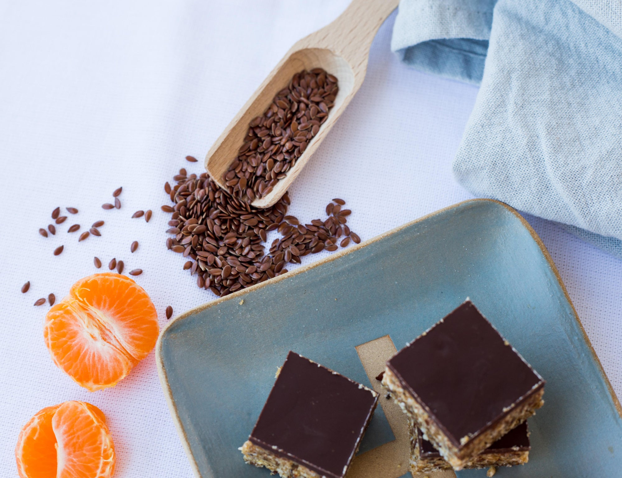 Orange and Cardamom Slice Recipe Naked Paleo Blog Healthy Bars and Mylk Infusion Latte Powders