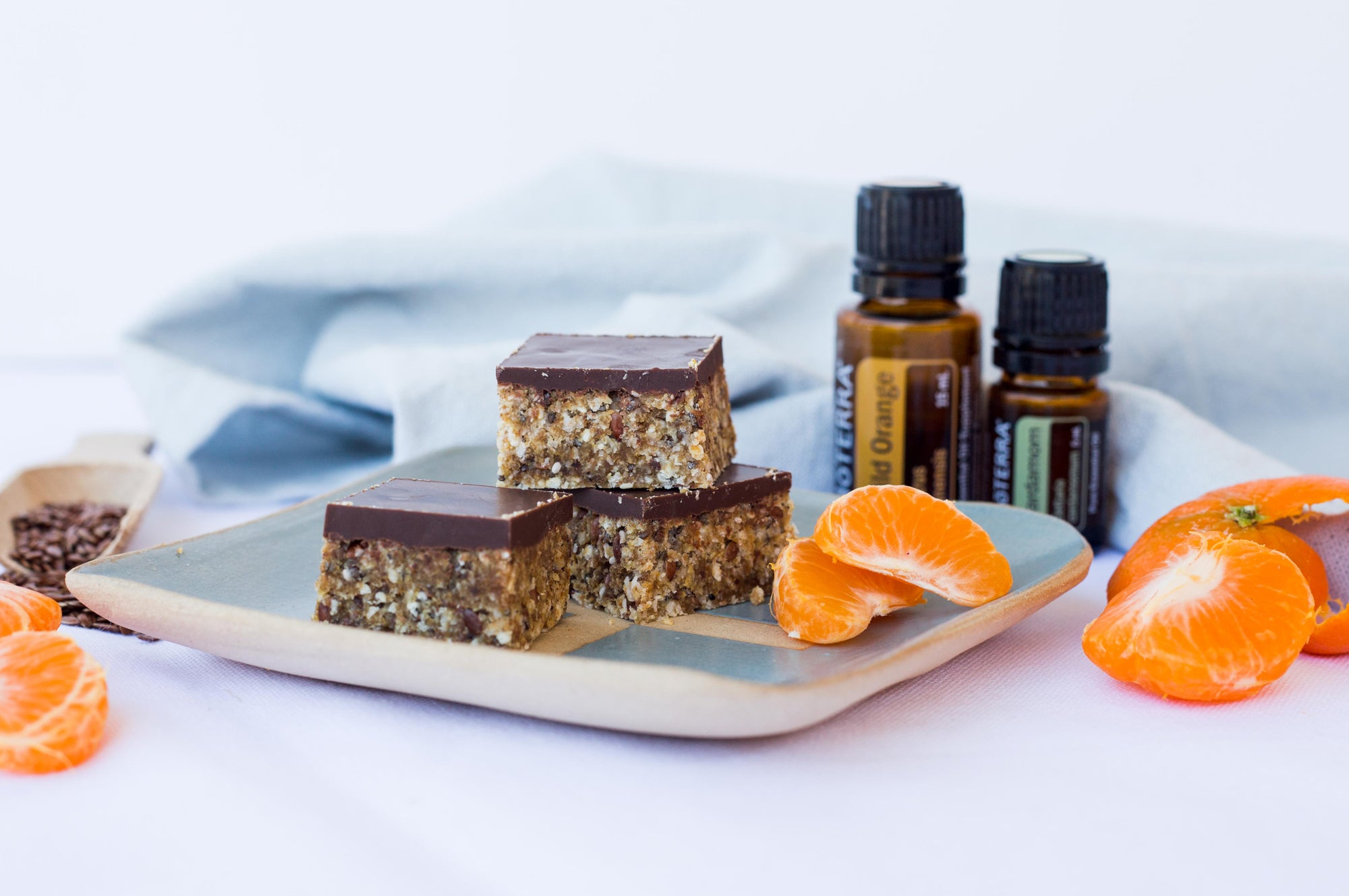 Orange and Cardamom Recipe Naked Paleo Blog Healthy Bars and Mylk Infusion Latte Powders