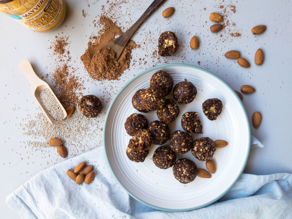 Peanut Bliss Bombs Recipe by Jessica Worth Naked Paleo Blog