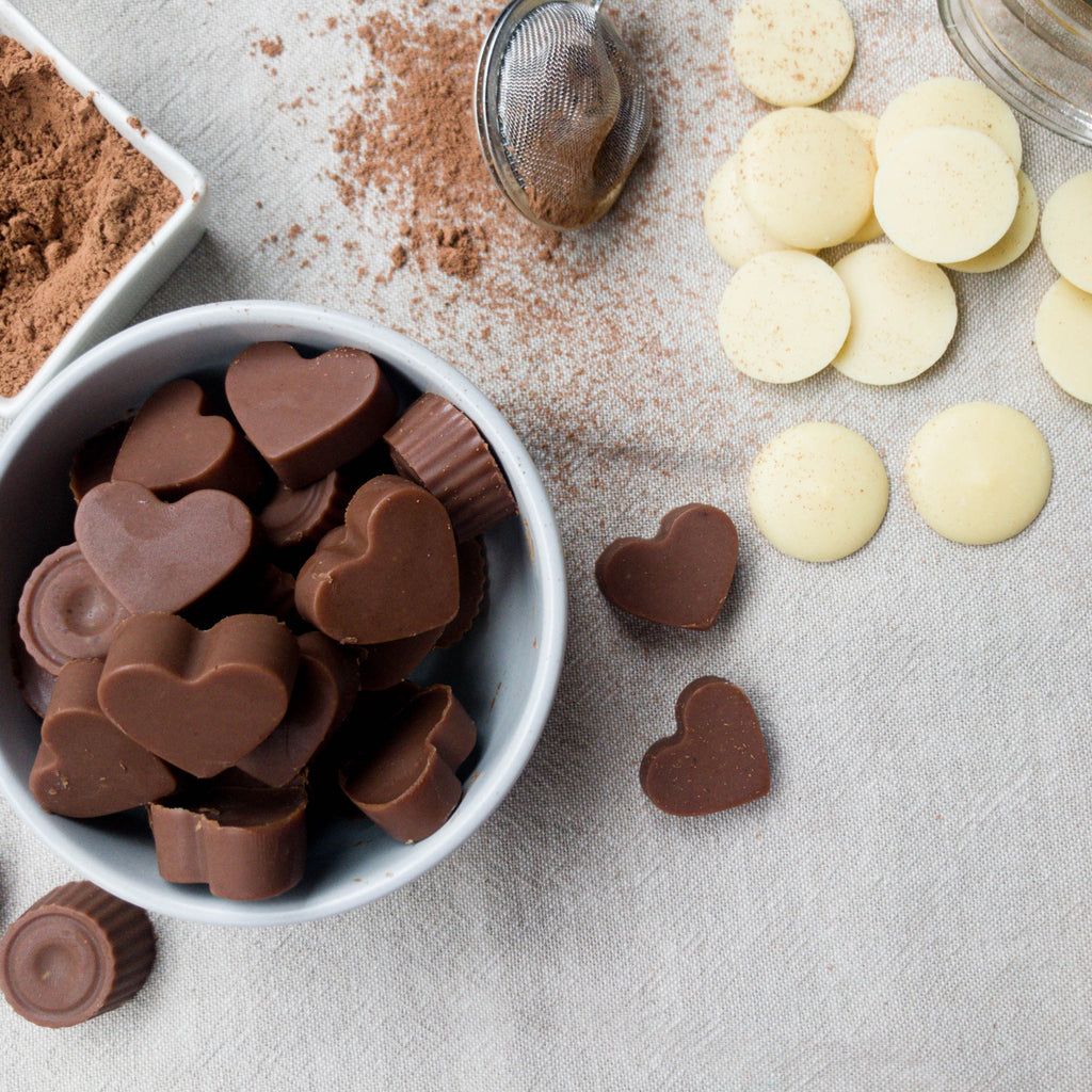 Naked Paleo Blog Recipe Peanut Butter Chocolate Valentine's Day Handmade Gift Byron Bay Peanut Butter