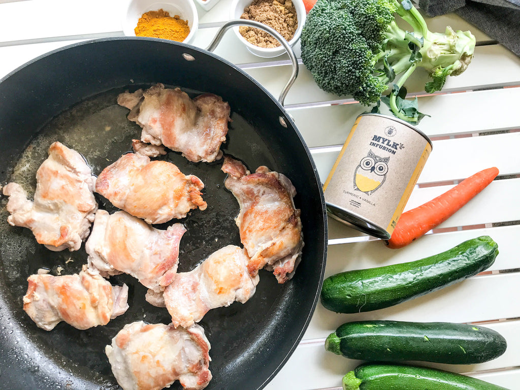 Naked Paleo Blog Shredded Turmeric Chicken Recipe