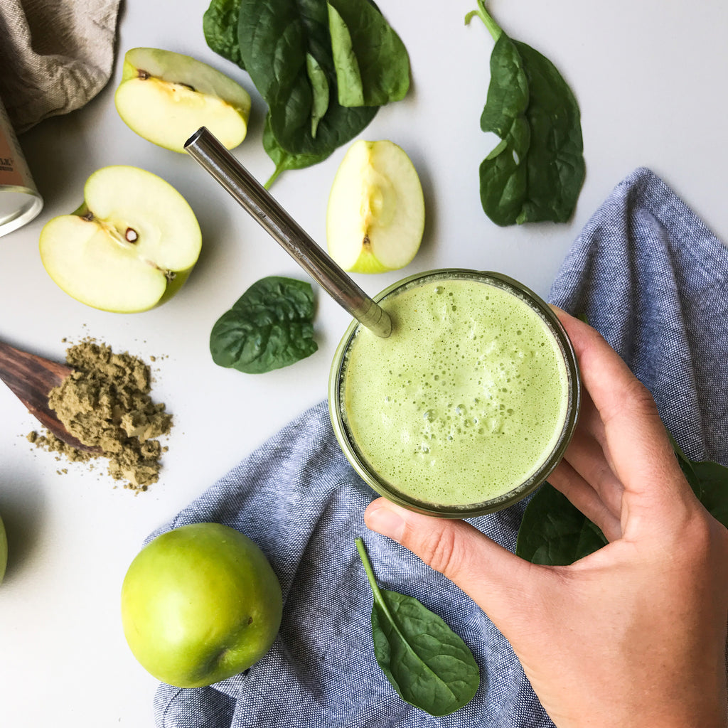 Naked Paleo Blog Recipe Spiced Apple Smoothie