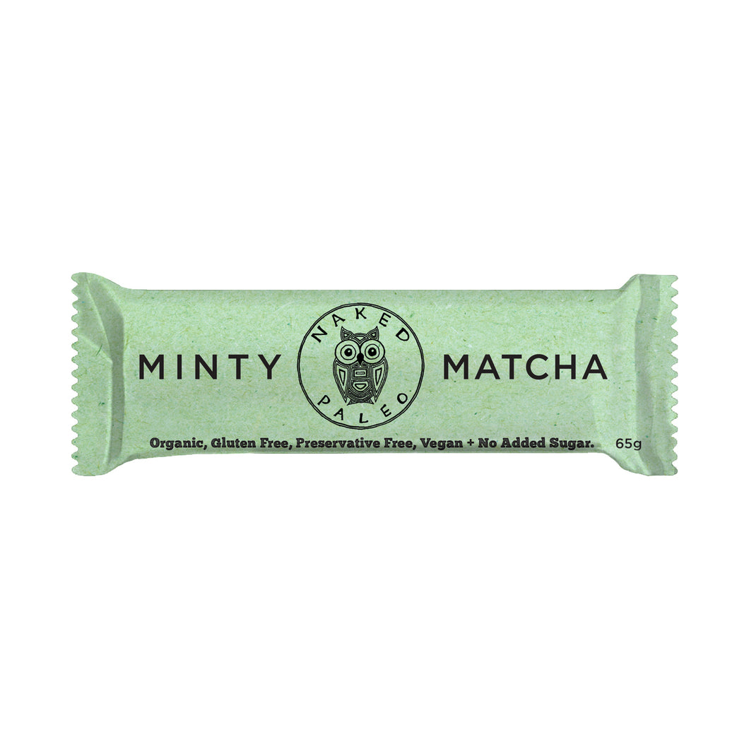 Minty Matcha Paleo Bar Box 10