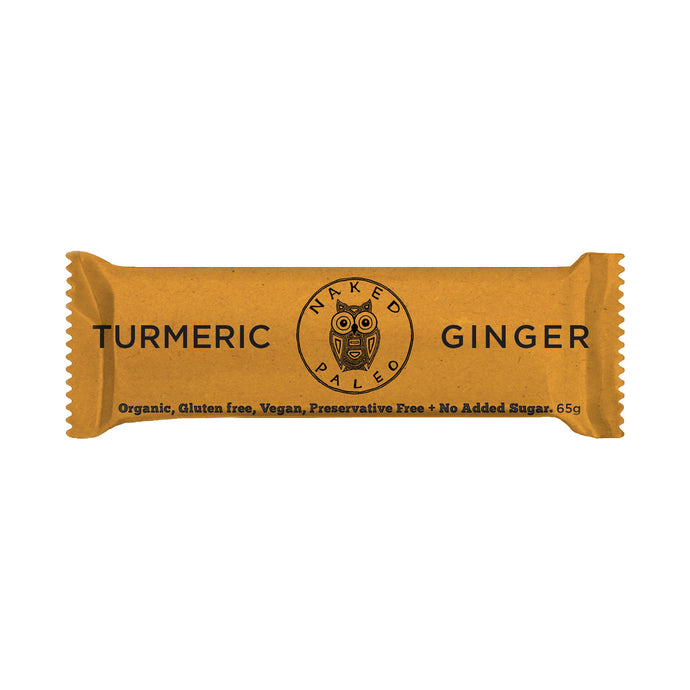 Turmeric Ginger Paleo Bar Box 10