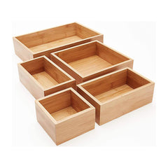 5 Pieces Drawer Organizer