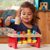 Personalized Deluxe Pounding Bench Toddler Toy