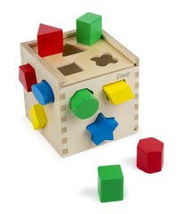 Personalized Shape Sorting Cube Classic Toy