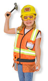 Personalized Construction Worker Role Play Costume Set