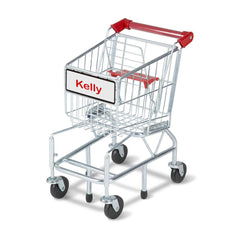 Personalized Shopping Cart Toy