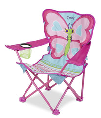 Personalized Cutie Pie Butterfly Camp Chair