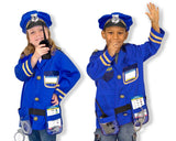 Personalized Police Officer Role Play Costume Set