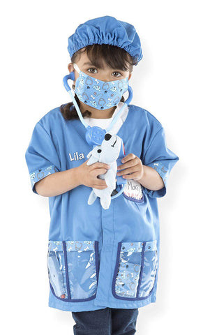 Personalized Veterinarian Role Play Costume Set
