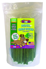 Dental Chew Sticks for Dogs Large Mint and Parsley