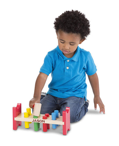 Personalized Pound-a-Peg Classic Toy
