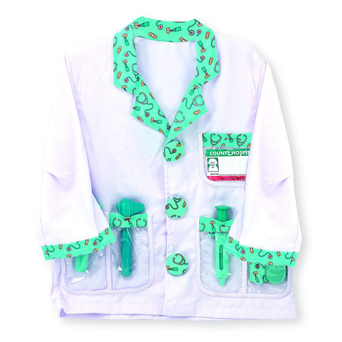 Personalized Doctor Role Play Costume Set