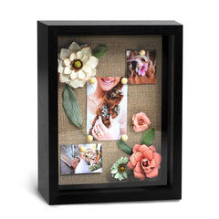8x10 Black Back opening Shadowbox