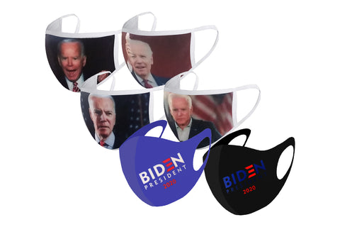 6 Pack of Biden Face Masks
