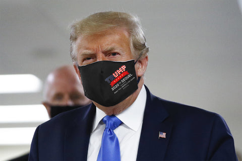 6 Pack of Trump Face Masks