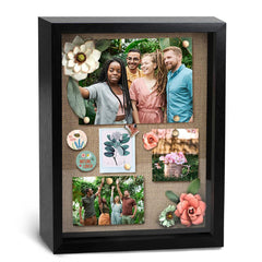 12x15 Black Back opening Shadowbox