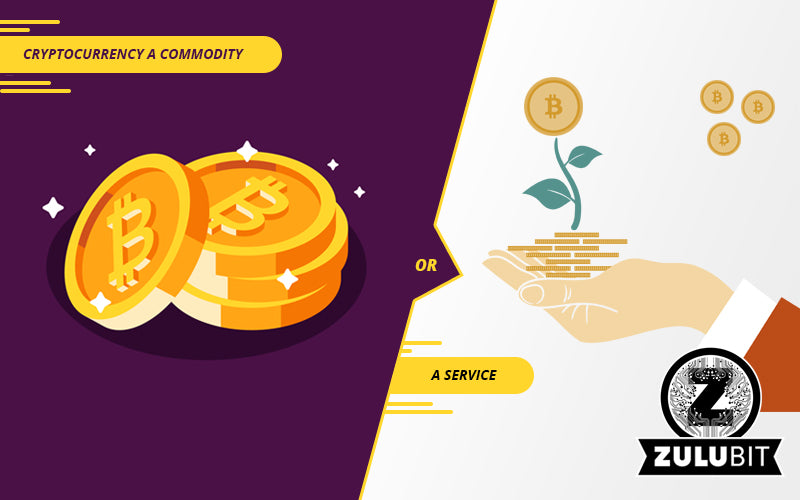 Commodity or service? What is Bitcoin?