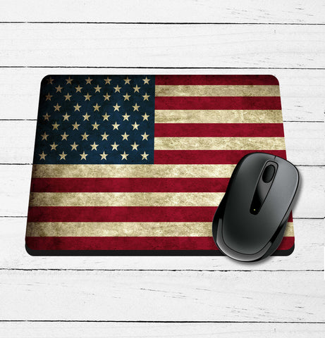 Vintage Flag Mouse Pad
