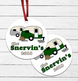 Camping Family Ornament
