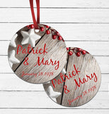 Christmas Couple Ornament