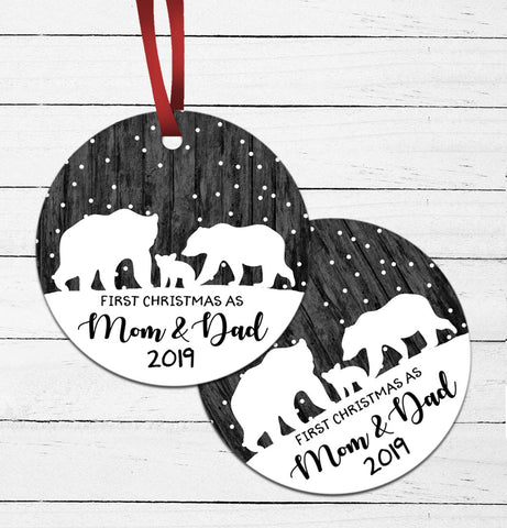 First Bear Christmas - Parents Ornament