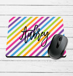 Multi Stripe Mouse Pad