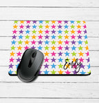 Multi Star Name Mouse Pad