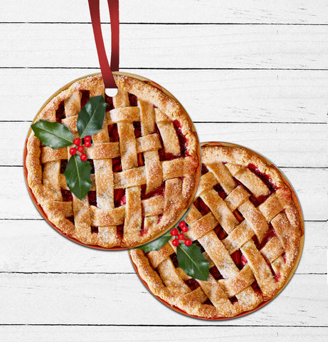 Homemade Pie Ornament